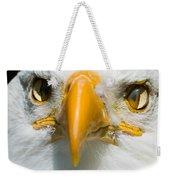 Eagle Eyes Weekender Tote Bag