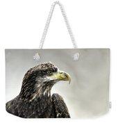 Eagle In The Mist Weekender Tote Bag