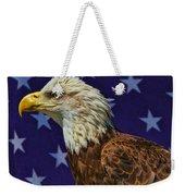 Eagle In The Starz Weekender Tote Bag