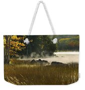Eagle Lake Sunrise Weekender Tote Bag