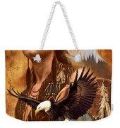 Eagle Montage Weekender Tote Bag by Garry Walton