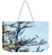 Eagle Nest Weekender Tote Bag