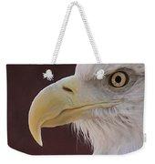 Eagle Portrait Freehand Weekender Tote Bag
