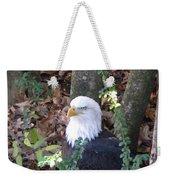 Eagle Pose Weekender Tote Bag