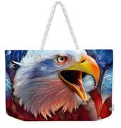 Eagle Red White Blue 2 Weekender Tote Bag