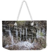 Eagle Rock Icicles 2 Weekender Tote Bag