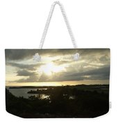 Eagle Sunset Weekender Tote Bag