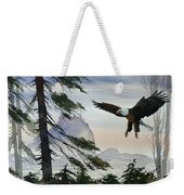 Eagle Wilderness Weekender Tote Bag