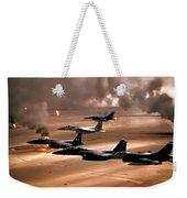 Eagles And Falcons Weekender Tote Bag