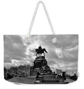 Eakins Oval In Winter Weekender Tote Bag by Bill Cannon