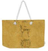 Eames Chair Patent 1 Weekender Tote Bag