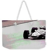 Early 60's Fun In A Formula 1 Race Weekender Tote Bag