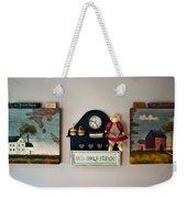 Early American Collage Weekender Tote Bag