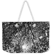 Early Autumn Monochrome Weekender Tote Bag