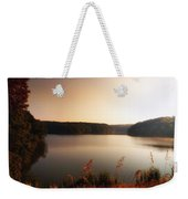 Early Autumn On The Lake Weekender Tote Bag