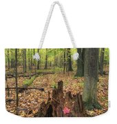 Early Autumn Woods Weekender Tote Bag