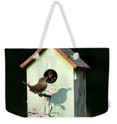 Early Bird Gets The Worm Weekender Tote Bag