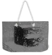 Early Blizzard At The Old Homestead Weekender Tote Bag