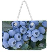 Early Blue Blueberries Weekender Tote Bag