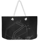 Early Computer Mouse Patent 1984 Weekender Tote Bag