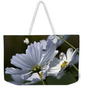 Early Dawns Light On Fall Flowers 02 Weekender Tote Bag