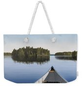 Early Evening Paddle  Weekender Tote Bag by Kenneth M  Kirsch