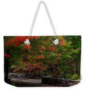 Early Fall At Talimena Park Weekender Tote Bag