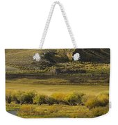 Early Fall Sunrise Weekender Tote Bag