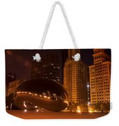 Early Hours In Chicago Weekender Tote Bag