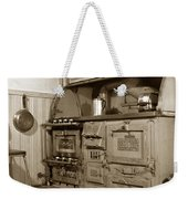 Early Kitchen With A Gas Stove 1920 Weekender Tote Bag