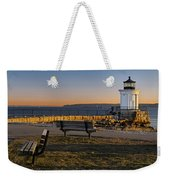 Early Morning At Bug Lighthouse Weekender Tote Bag