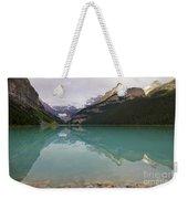 Early Morning At Lake Louise Weekender Tote Bag