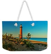 Early Morning At Little Sable Weekender Tote Bag
