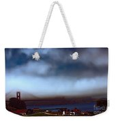 Early Morning At The Golden Gate Weekender Tote Bag