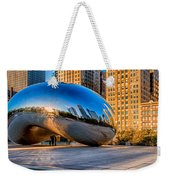 Early Morning Bean In Chicago Weekender Tote Bag