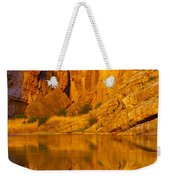 Early Morning Canyon Reflection Weekender Tote Bag