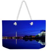 Early Morning Cherry Blossoms Weekender Tote Bag