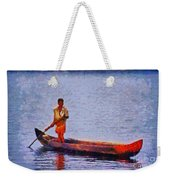 Early Morning Fishing In India Weekender Tote Bag