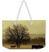 Early Morning Fog 008 Weekender Tote Bag