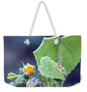 Early Morning Frost Weekender Tote Bag