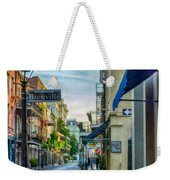 Early Morning In French Quarter Nola Weekender Tote Bag