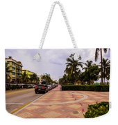 Early Morning In Miami Beach Weekender Tote Bag