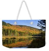 Early Morning On Greenough Pond  Weekender Tote Bag