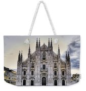 Early Morning On Il Duomo Weekender Tote Bag