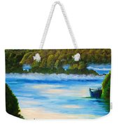 Early Morning On Lake Peipsi  Weekender Tote Bag