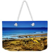 Early Morning On The Beach Weekender Tote Bag