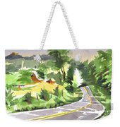 Early Morning Out Route Jj Weekender Tote Bag