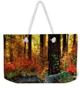 Early Morning Walk Weekender Tote Bag