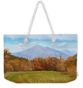 Early November At First Bridge Weekender Tote Bag
