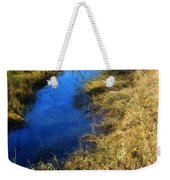 Early On A Frosty Morning Weekender Tote Bag